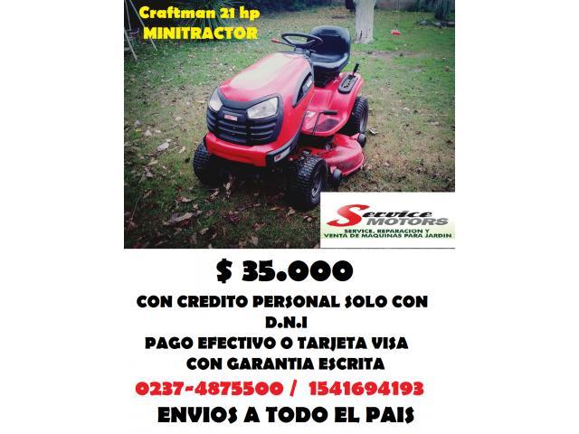 Minitractor 20 hp Craftman oportunidad !!!!