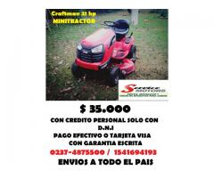 Minitractor 20 hp Craftman oportunidad !!!!