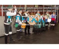show de gaitas y danzas gallegas Gaiteros Musicos en vivo