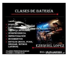 CLASES DE BATERÍA en MORÓN