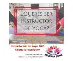INSTRUCTORADO DE YOGA 2018