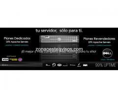 Web Hosting, Servidores Dedicados, Hosting VPS