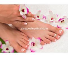Podologia Pedicura a domicilio belleza de pie y reflexologia
