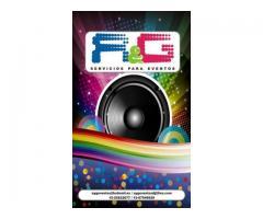 Dj sonido e Iluminación, Organización de Eventos, Ambientación y Decoración y Más...