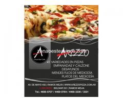 Arezzo - Bar, Cafe, Delivery de Pizzas y Empanadas