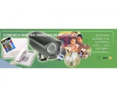 Casa Fax - Sistemas telefónicos, alarmas y circuitos de observación, camaras ip