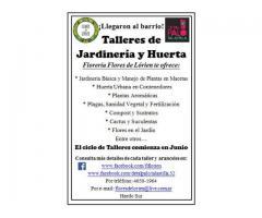 Talleres de Jardinería y Huerta