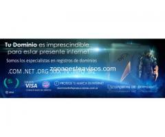 Registro y venta de dominios web (011) 6009-4256